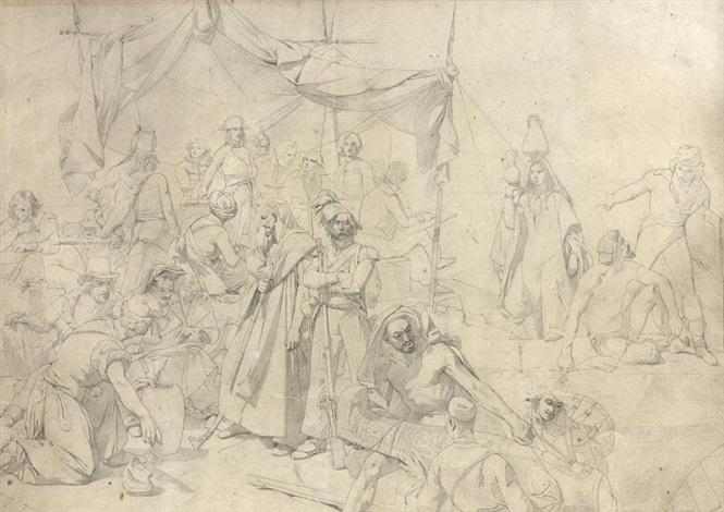 Expédition dEgypte sous les ordres de Bonaparte by Leon Cogniet on artnet