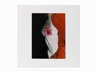 'nude with camellia by erwin blumenfeld