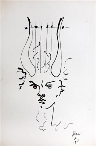 Jean Cocteau ring
