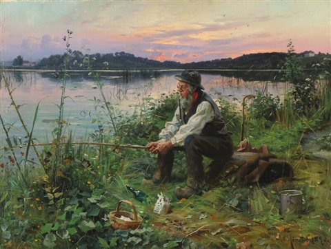 Image result for photos of a man fishing