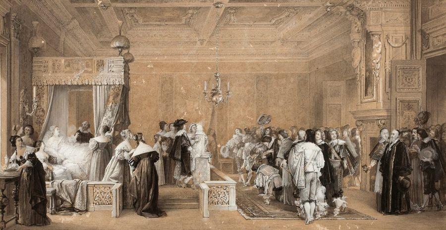 La joie de la France ou La naissance de Louis XIV by Jacques ...