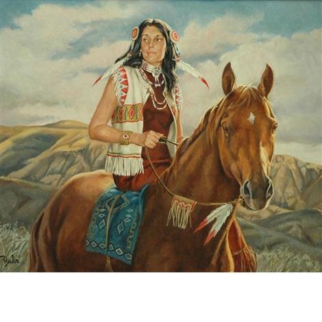 Crazy Horses Woman By Al Brule On Artnet