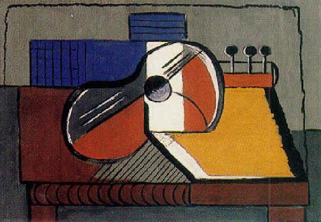 Guitare Sur La Table By Simone Herman On Artnet