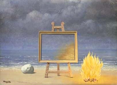 La belle captive by René Magritte on artnet