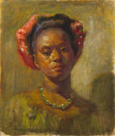 Woman from the French West Indies by Henry Ossawa Tanner on artnet