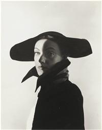 hat fashion, new york by erwin blumenfeld