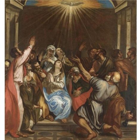 Pentecoste by Titian on artnet