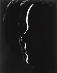 shadow profile, new york by erwin blumenfeld