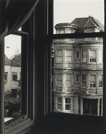 Bay Windows San Francisco By Ruth Bernhard