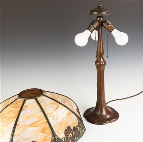 Handel Arts And Crafts Table Lamp By Co