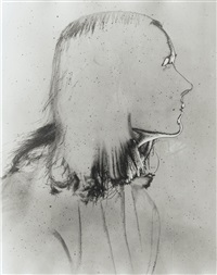 niki de saint phalle, vers 1950 by erwin blumenfeld