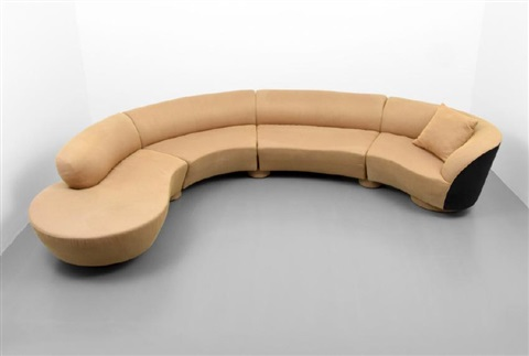 OMNIBUS Sectional Sofa by Vladimir Kagan on artnet
