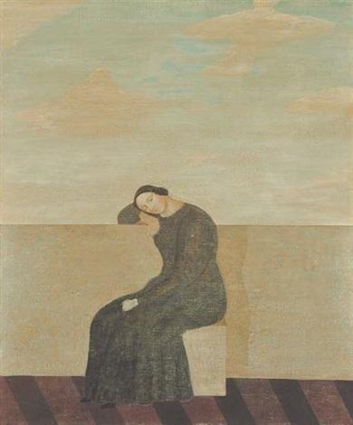 Waiting by Toshio Arimoto on artnet