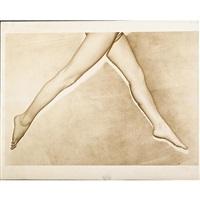 untitled (model's legs) by erwin blumenfeld