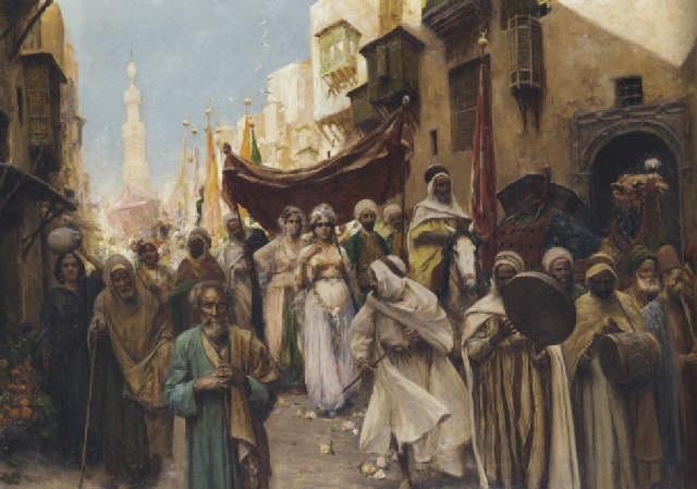 A wedding procession by Fabio Fabbi on artnet