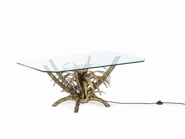Illuminated Palm Tree Table By Maison Jansen On Artnet