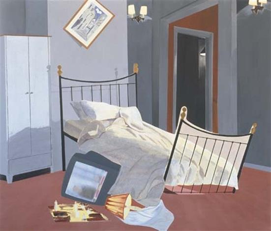 Room 100 Chelsea Hotel By Dexter Dalwood