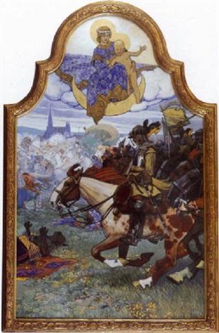 la victoire de jean sobiesky lors du siège de vienne par les turcs by maximilien liebenwein