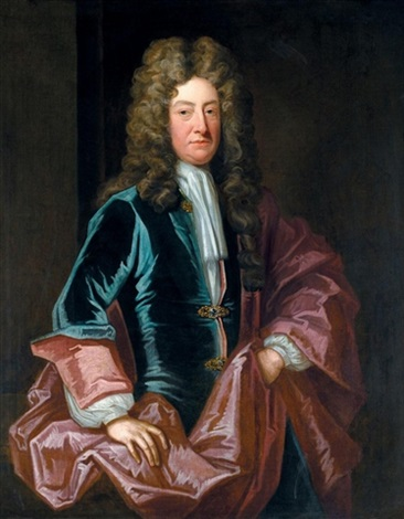 Portrait of a gentleman Joseph Addison by Godfrey Kneller on artnet