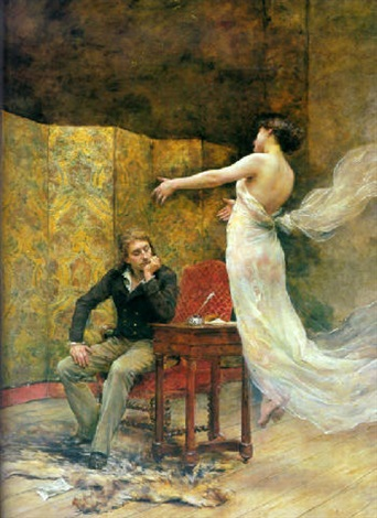 Heinrich Heine and the Muse of Poetry by Georges Moreau de Tours ...
