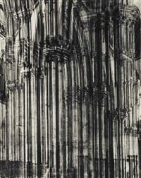 cathédrale de rouen by erwin blumenfeld