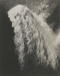 hair by erwin blumenfeld