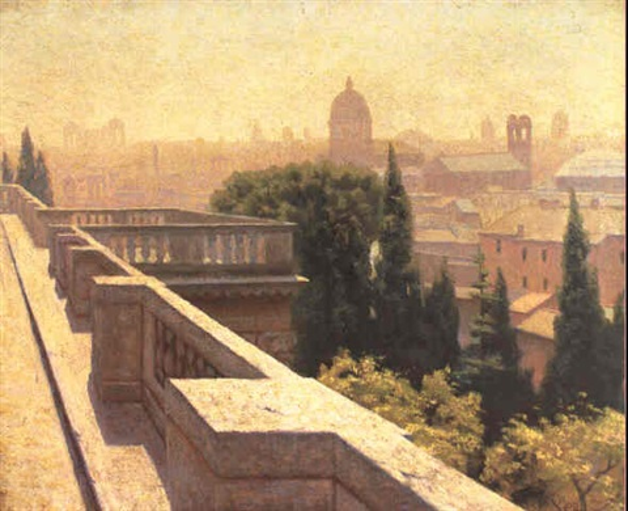 View of Rome by Giuseppe Pellizza da Volpedo on artnet