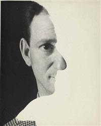 self-portrait, new york by erwin blumenfeld