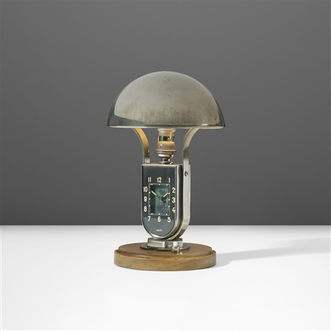 Table Lamp With Clock By Mofem On Artnet