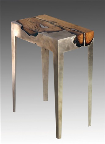 Wood Casting by Hilla Shamia on artnet