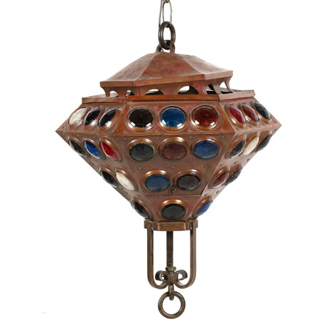 Hanging Pendant Light By Frank Lloyd Wright