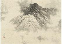 Mountains after rain by Gyokudo Kawai on artnet