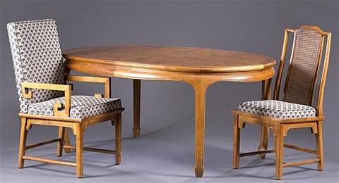 asian style dining table asian style dining table eight chairs and two additional leaves 11 works by century furniture 9191