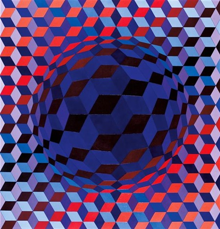 Image result for victor vasarely pulsar