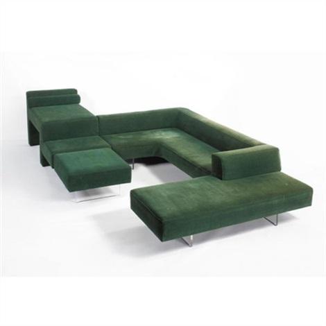 Omnibus sofa by Vladimir Kagan on artnet