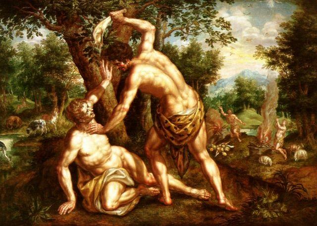 Cain y Abel by Hendrick de Clerck on artnet