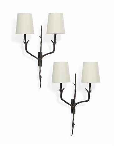 Tree Branch Two Light Wall Sconces