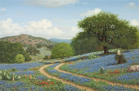 Texas Hill Country By Royce Roberts
