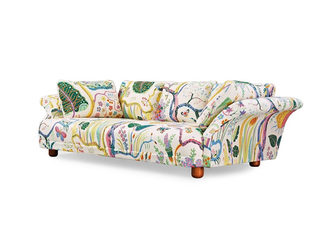 Exceptional A Josef Frank Liljevalchs Sofa By On Artnet Pictures