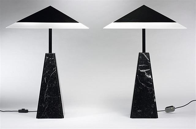 Abat Jour Table Lamps Pair By Cini Boeri On Artnet