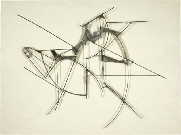 Letztes Metallrelief by Walter Bodmer on artnet