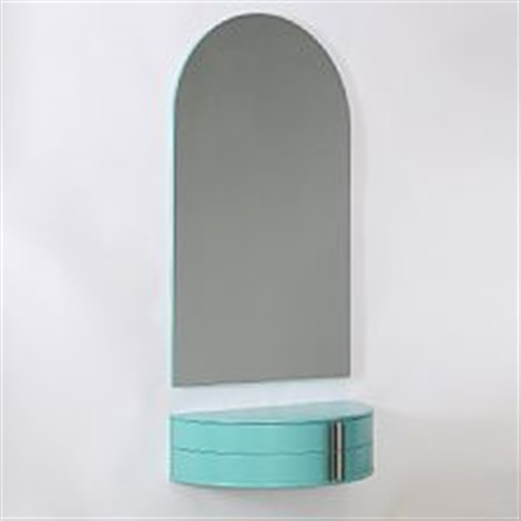 Dressing Table And Mirror For Wall Mounting By Nanna Ditzel