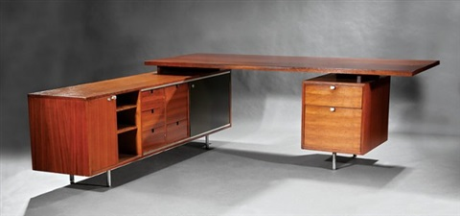 george nelson Herman Miller Executive Desk By George Nelson On Artnet