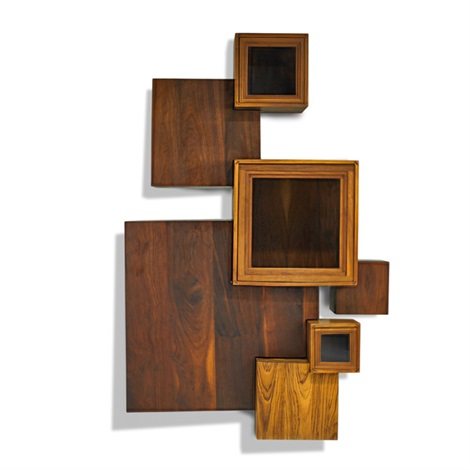Large Wall Hanging Storage Cabinet By Jeffrey Greene