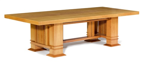 Dining Room Table Allen 605 By Frank Lloyd Wright