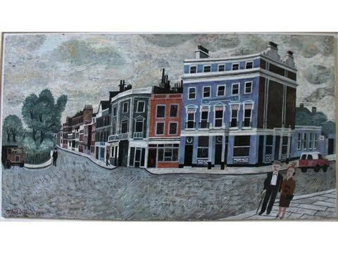 The Old Pier Hotel Chelsea By Alfred Daniels