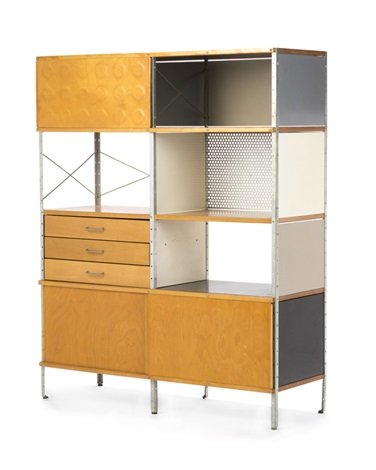 An Eames For Herman Miller Modular Storage Cabinet By Charles