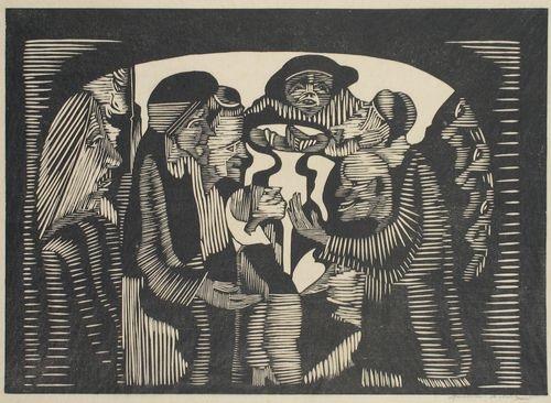 Group of people by Samuel Jessurun de Mesquita on artnet