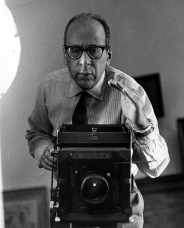 Self-portrait with camera by Philippe Halsman on artnet