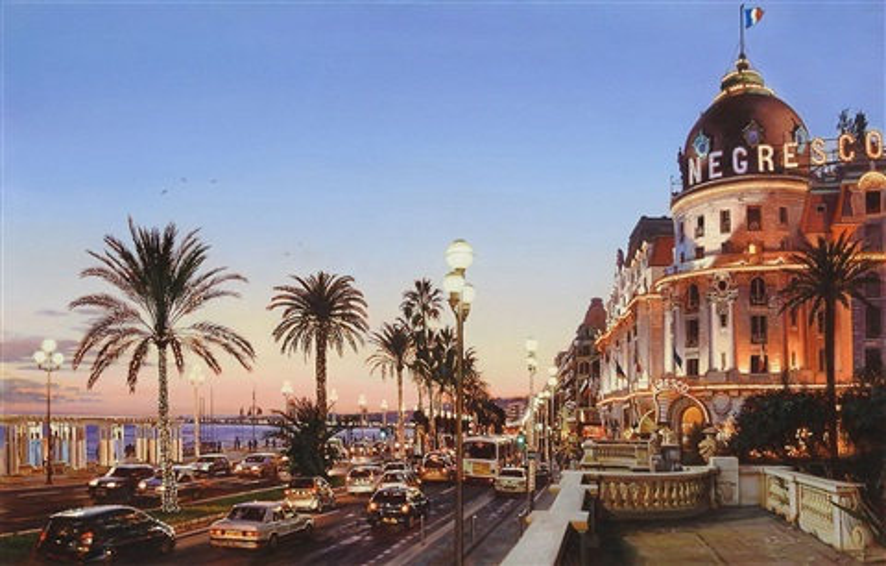 Hotel Negresco Nice By Oleg Turchin